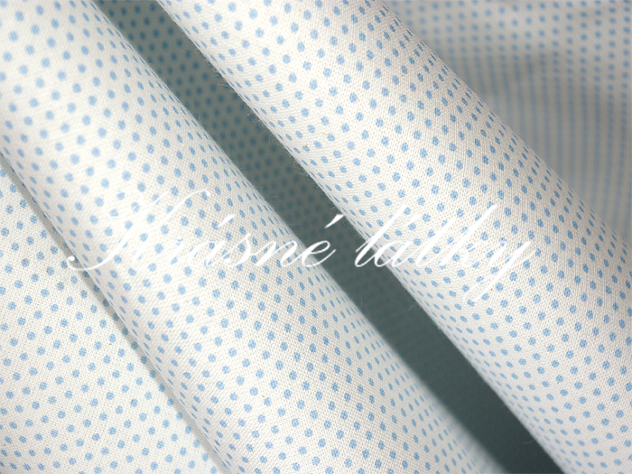 Velmi drobné puntíky š. 160cm 100% bavlna