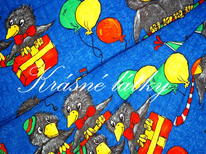 Veselé vrány - 100 bavlna