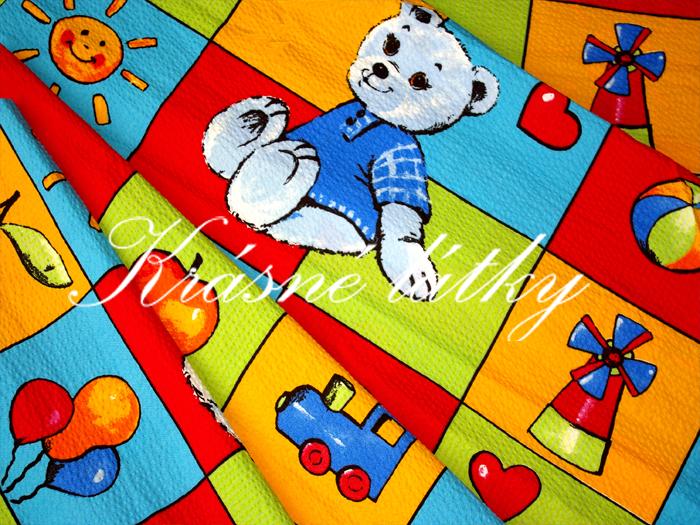 Zářivá do dětského pokojíčku - 100 bavlna