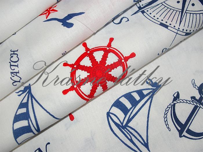 Ostrov pokladů 100% bavlna v krásné kvalitě 140g/m2 š.240cm