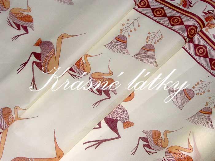 Pelikán - bavlna, polyester