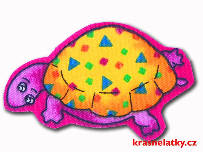 nažehlovací aplikace želvička