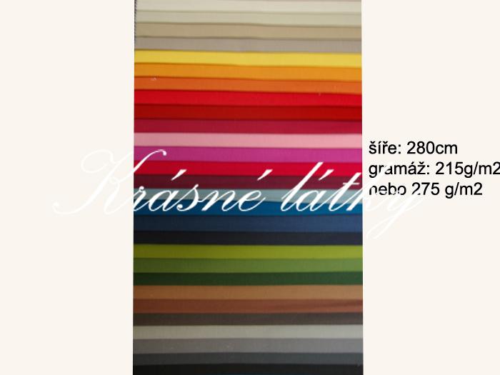 78727c647ad5 Velmi kvalitní bavlněná plátna š. 280cm - taburetky