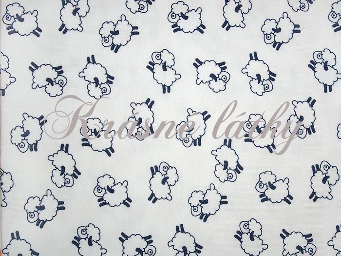 65c44bdbf85d Ovečky bavlněný úplet atest 95% bavlna 5%elasten drobný vzor