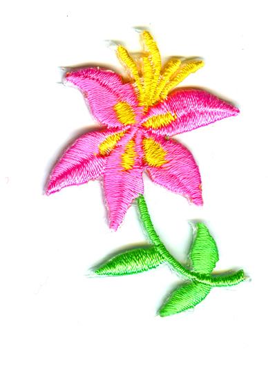 Nažehlovačka 31 - Kytička růžová