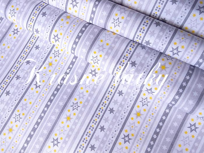 ed1d3f9f22bf Pruhy s hvězdami š. 160cm 100% bavlna