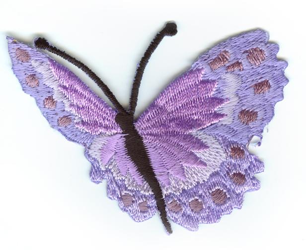 Nažehlovačka 39 - Motýlek - fialový