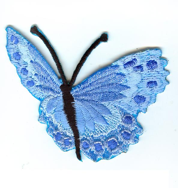 Nažehlovačka 41 - Motýlek - modrý