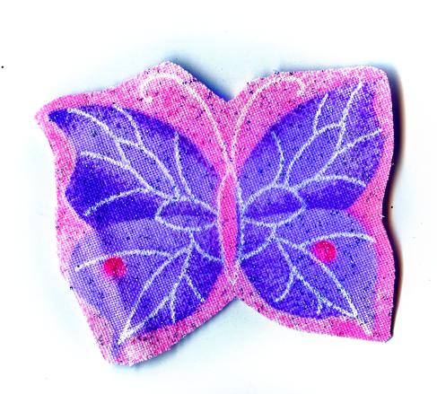 Nažehlovačka 48 - Motýlek se třpytkami!