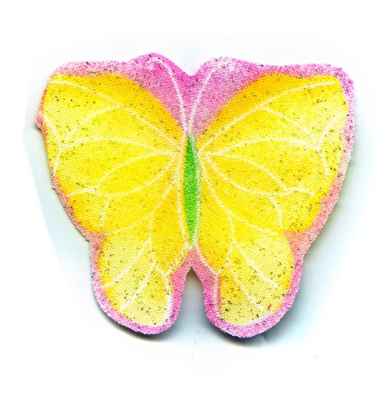 Nažehlovačka 50 - Motýlek se třpytkami!
