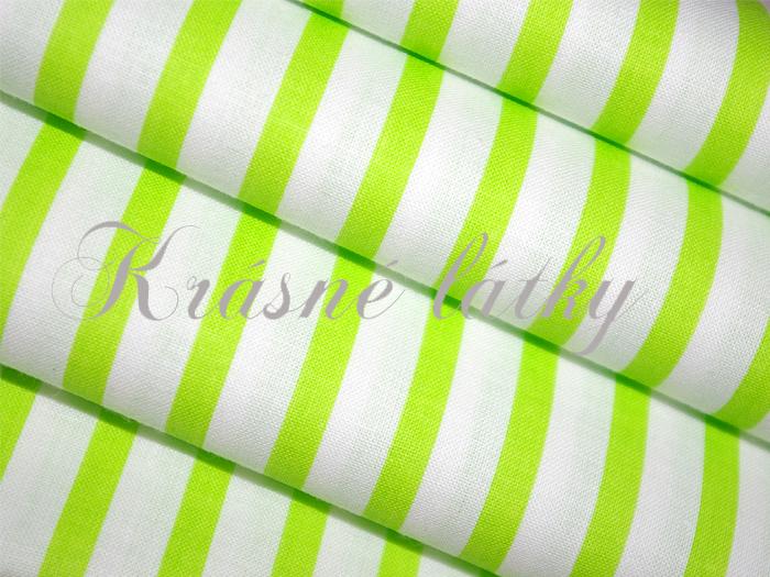proužek zelený 100% bavlna empty cb805464be6